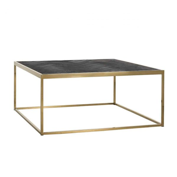 7433 - Salontafel Blackbone gold 90x90 (Goud)