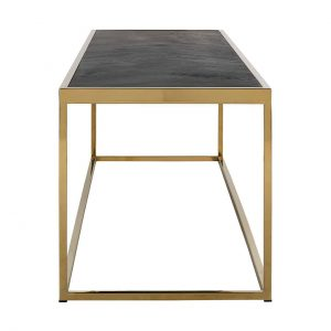 7434 - Salontafel Blackbone gold 160x40 (Goud)